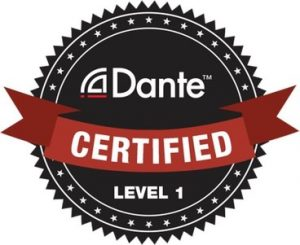 Dante Level 1 Qualified