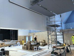 Brentwood Prep School Installation - White Light