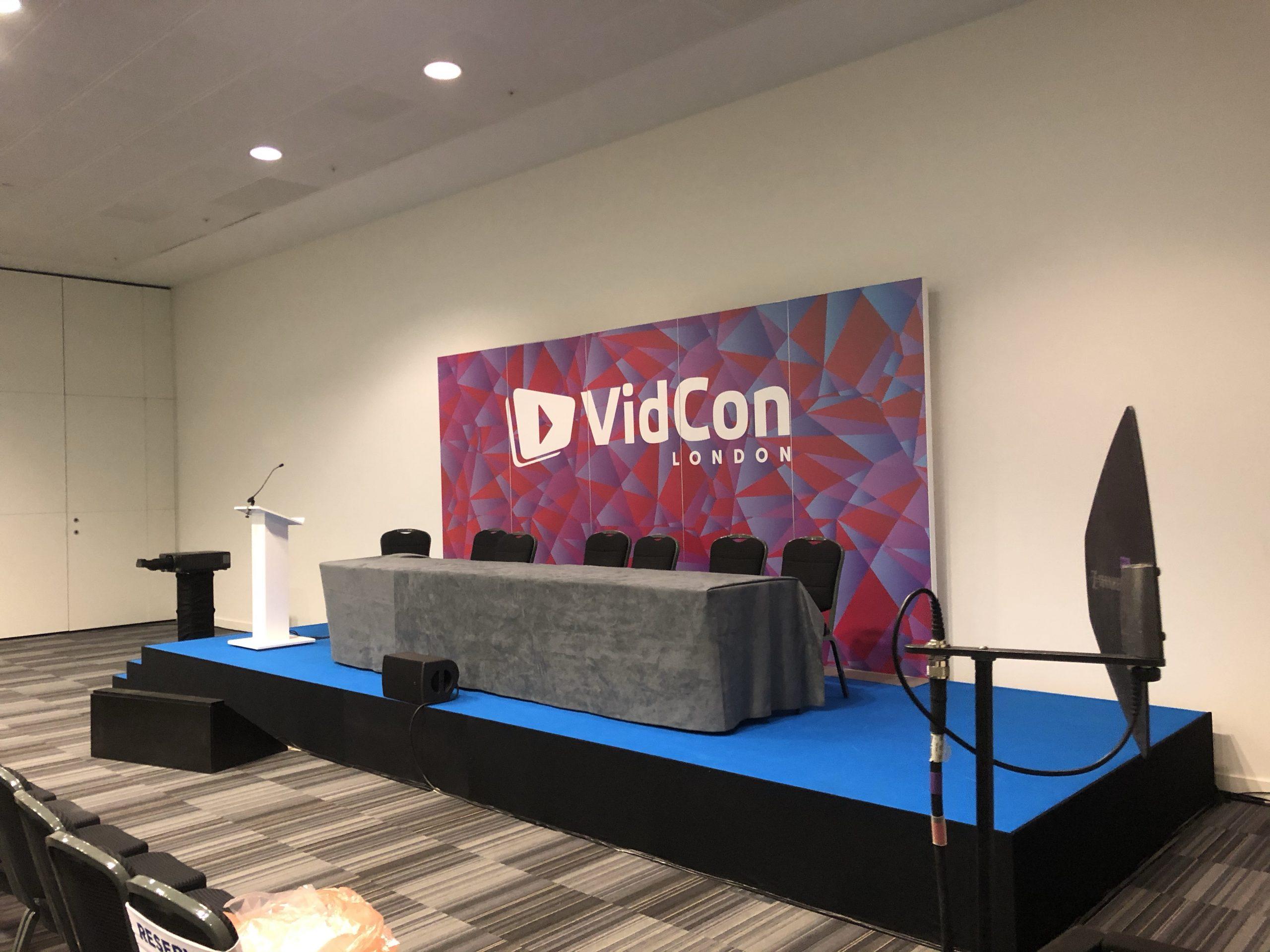 AV Technician @ VidCon