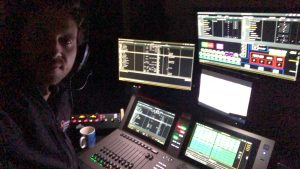 Operating the GIO Lighting Console
